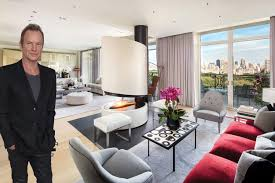 100 Nyc Duplex Sting And Trudie Styler List Opulent 56M NYC Penthouse WWD