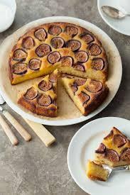 Fig Almond Olive Oil Cake Gluten Free Paleo