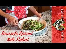 Part 1 2 Brussels Sprout Kale Salad