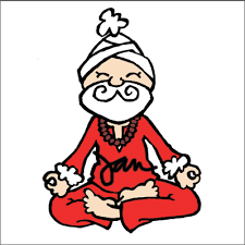 Christmas Cards With A Fun Yoga Twist Set Of Five 12