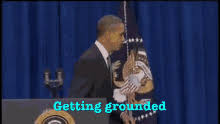 Obama Kick Door GIFs