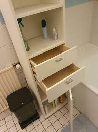 badezimmer hoch schrank weiß