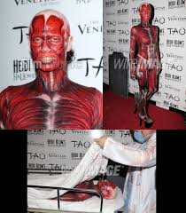 Heidi Klum Halloween 2011 by Trendfashion Hunter Celebrity Looks Halloween 2011