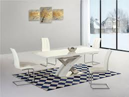 100 White Gloss Extending Dining Table And Chairs Details About High Gloss And Glass Extending Dining Table And 8 White Chairs Set