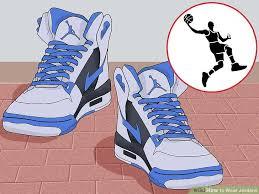 Image Titled Wear Jordans Step 1