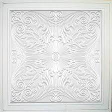 Antique Ceiling Tiles 24x24 by Amazon Com Astana White 24x24