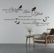 details zu wandtattoo glaube an wunder liebe und glück wandtattoo wohnzimmer spruch tk3a