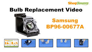 samsung bp96 00677a bulb replacement guide for dlp tv l