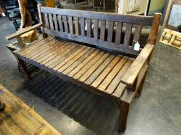 Natural Rustic Bench This Bench Is Perfect For Your Entrance Or