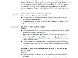 Banking Resume Samples Personal Banker Sample Impressive Idea Info Investment Cv