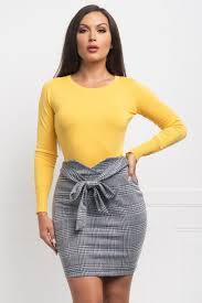 99 Yulie Sweater Top Yellow Fashion Effect Store