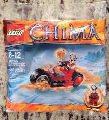 Lego Legends Of Chima 30265 Worriz Fire Bike Polybag | EBay