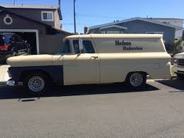 100 Chevrolet Panel Truck 1961 Chevy Helms Bakery The HAMB