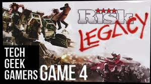 Lets Play Risk Legacy A Board Game Playthrough