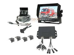 100 Heavy Duty Truck Parking 7 Waterproof Duty Sensor System With Vision Backup