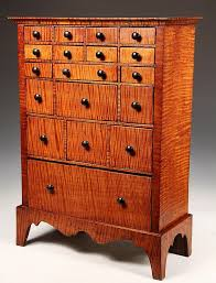 COUNTERTOP APOTHECARY CHEST Eighteen Drawer Apothecary Chest in