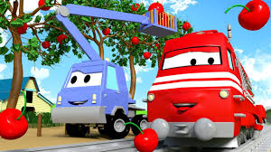 100 Chucks Trucks Tucson Troy The Train And Chuck The Cherry Picker In Car City Cars