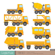 100 Construction Trucks Names Digital Clipart ETSY Pinterest Clip Art And Digital