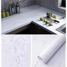 fantasnight 40x300cm marmor folie küche arbeitsplatte folie selbstklebend möbelfolie klebefolie pvc wasserdicht dekorfolie für möbel küche schrank