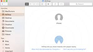 How to Use AirDrop to Files Between Macs and iOS Devices