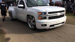 Custom Dropped 2014 Silverado Billets Looking Clean The