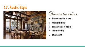 Elements 19 17 Rustic Style Characteristics