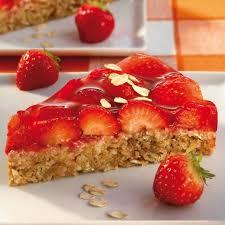 haferflocken erdbeer kuchen