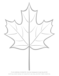 Maple Leaf Clipart Simple 2