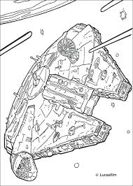 Full Image For Star Wars Coloring Sheets Pdf Rebels Pages To Print Millennium