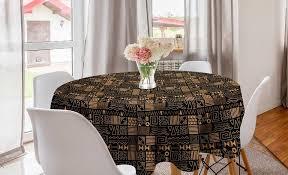 abakuhaus tischdecke kreis tischdecke abdeckung für esszimmer küche dekoration vintage tribal kreativ kunst kaufen otto