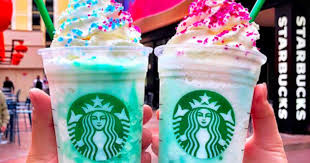 Starbucks Unicorn Frappuccino Instagram Beautiful Introduced A New Crystal Ball