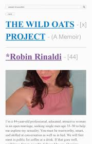 100 Rinaldi Truck Rental The Wild Oats Project One Womans Midlife Quest For Passion At Any