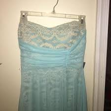 jcpenney light blue dress s jcpenney dresses prom on poshmark
