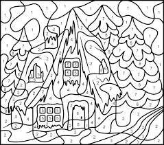 Color By Number Printable Free Advanced Coloring Pages Best With For Addition Sheets Kitchen
