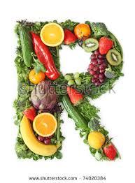 Fruit Ve able Alphabet Letter E Stock Shutterstock