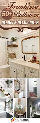 46 Cool Small Master Bathroom 50 Best Farmhouse Bathroom Design And Decor Ideas For 2021
