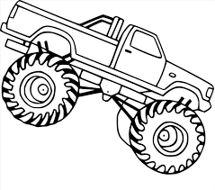 100 Truck Drawing For Rhforkidscom Easy Simple Monster Truck Drawing At Gets Free For