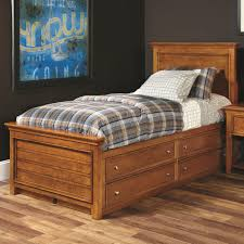 Atlantic Bedding And Furniture Fayetteville by Lea Industries Willow Run Twin Panel Bed With Captain Box Storage