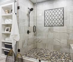 Custom Shower Remodeling And Renovation Lenexa Master Bathroom Lighthouse Renovation Repair