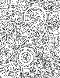 Coloring Books Printable Pdf Pages For Adults Abstract Adult Color Full Size