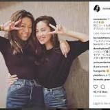 里田まい, 中村アン, お揃い, Instagram