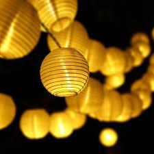 aliexpress com buy 6m 30 led outdoor lighting lantern ball solar