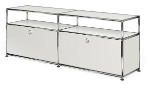 usm haller sideboard with 2 doors open top