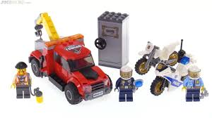 LEGO City Tow Truck Trouble Review! 60137 - YouTube