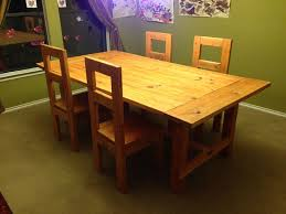 Wood Kitchen Table Plans Free by 438 Best Dining Room Tutorials Images On Pinterest Wood Projects