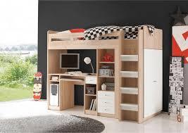 promo bureau ensemble lit mezzanine avec bureau penderie étagère prix promo