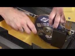 Qep Tile Saw Manual by Qep 22400q 3 5 Hp Torque Master Tile Saw Review Youtube