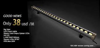 newsletter outdoor linear mini led flood light lfl nf e 12p 24p