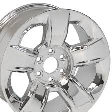 100 Chevy Truck Wheels For Sale 20 Chevrolet Silverado OEM Chrome Wheel GMC Denali 1500