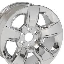 100 Chevy Truck Center Caps 20 Chevrolet Silverado OEM Chrome Wheel GMC Denali 1500